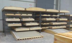 Glass-Fibre-Reinforced-Concrete-cladding-moulds-storage